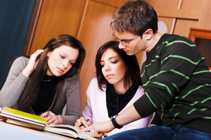 Studying together istock